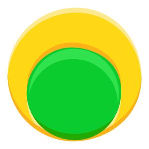 Abstract Vintage Circle