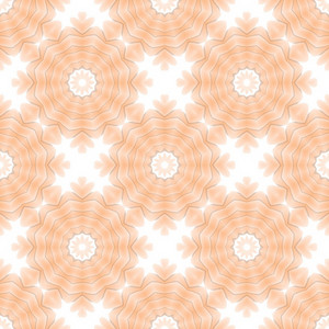 Abstract Vintage Floral Backdrop