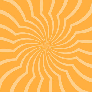 Abstract Vintage Sunburst