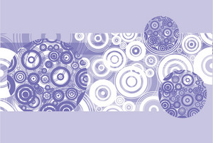 Abstract Violet Design
