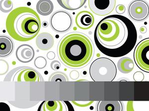 Abstrcat Funky Pattern Wallpaper