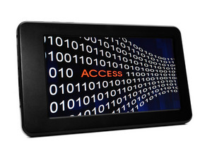 Access Concept On Pc Tablet