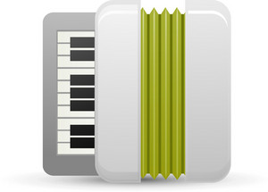 Accordian Instrument Lite Music Icons