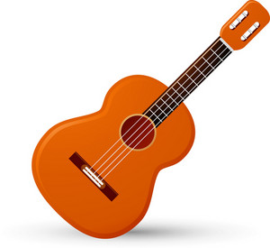 Acoustic Guitar Lite Music Icons