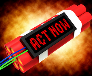 Act Now Dynamite Shows Urgency For Action