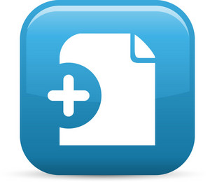 Add File Elements Glossy Icon