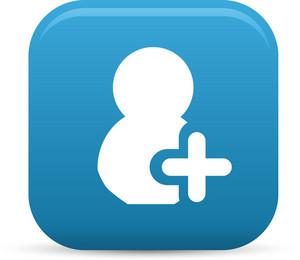 Add New Person Elements Lite Icon