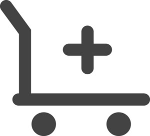 Add To Cart Glyph Icon