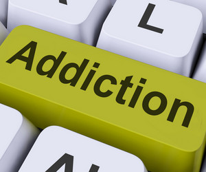 Addiction Key Means Obsession