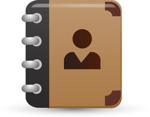 Address Book Lite Communication Icon