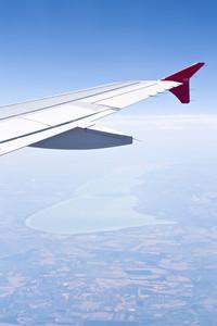 Aerial Image Of Lake Balaton