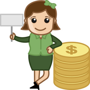 Affiliate Income - Vector Illustration