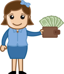 Affiliate System - Easy Way To Earn Cash - Business Cartoon Vectors