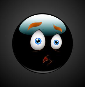 Afraid Smiley