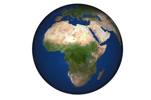 Africa World Globe