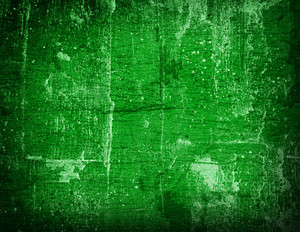 Aged Vintage Grunge - Green