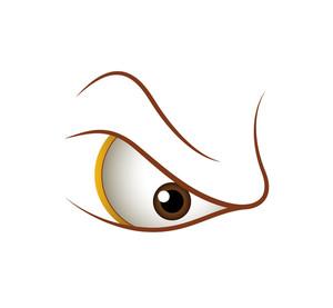 Aggressive Eye