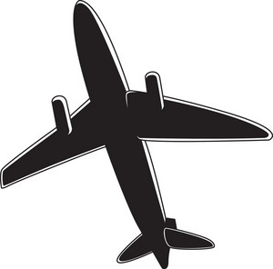 Airplane Vector Element