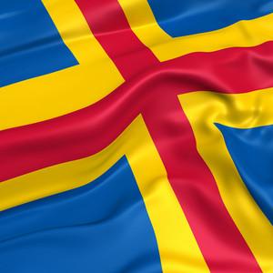 Aland Island Flag