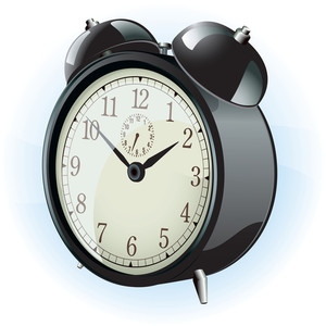 Alarm Clock. Vector.