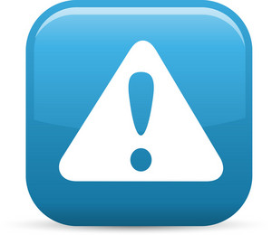 Alert Elements Glossy Icon