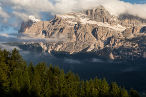 Alpes mountain Dolomites. Italy