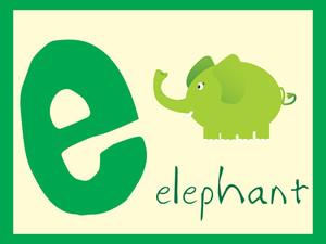 Alphabet Series E