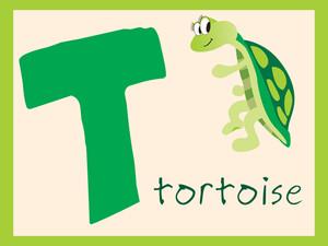Alphabet Series T