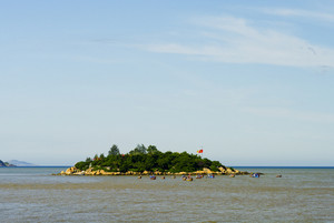 Amazing little island on the Vietnam sea