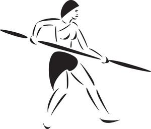 Amazon Girl With Pole Weapon.