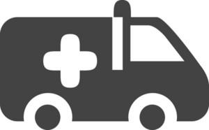 Ambulace Glyph Icon