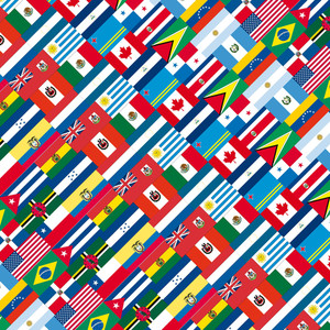 America United. Vector Illustration