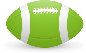 American Football Helmet Front Lite Sports Icon