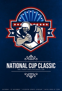 American Football National Cup Classic Poster