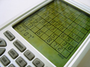An electronic sudoku game