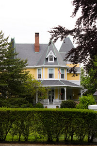 An old Victorian style home with classic architecture.
