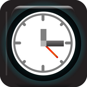 Analog Clock Tiny App Icon