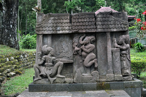 Ancient Erotic Temple Candi Sukuh