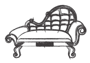Ancient Sofa Drawing