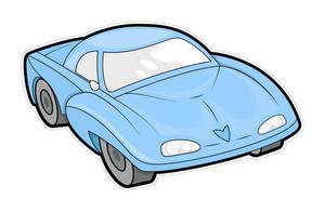Ancient Sports Car