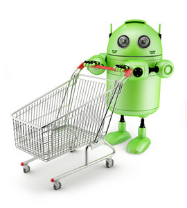 Androidwith Shopping Cart