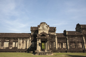 Angkor Wat inside detail. Cambodia