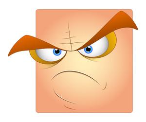 Angry Box Smiley