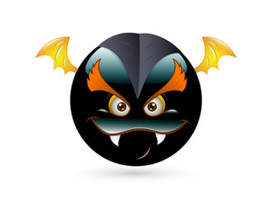 Angry Evil Smiley