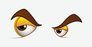 Angry Eyes Expressions