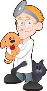 Animal Doctor - Cartoon Character