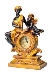 Antique Clock, Minutes To Twelve.
