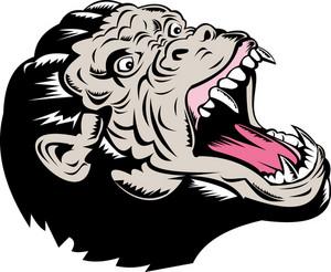 Ape Angry Fangs