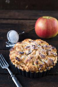 Apple Pie In Pan