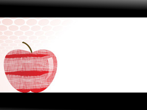 Apple With Plaster